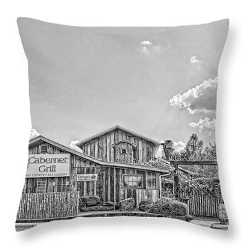 The Cotton Gin Village Throw Pillow