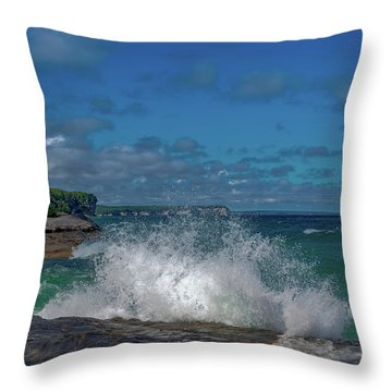 The Coves Throw Pillow
