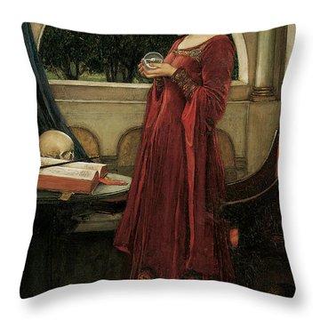 John William Waterhouse Throw Pillows