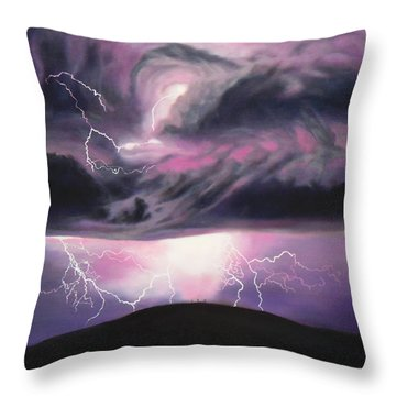 The Darkest Day Throw Pillow