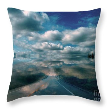 Throw Pillow featuring the photograph The Dream by Elfriede Fulda