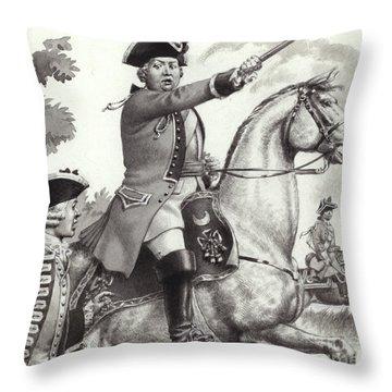 The Duke Of Cumberland Throw Pillow