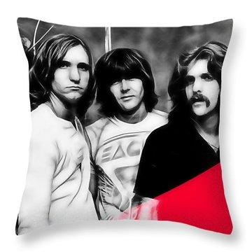 The Eagles Collection Throw Pillow