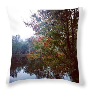 Serenity  Throw Pillow by Janel Cortez
