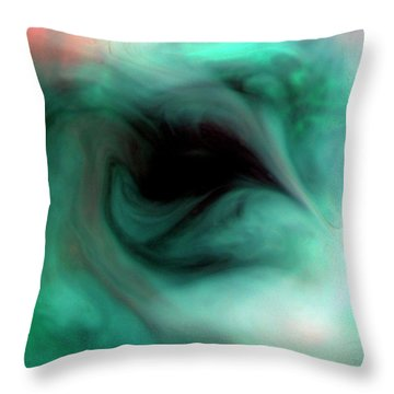 The Empty Eye Throw Pillow