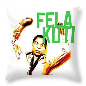 The First Black President Throw Pillow