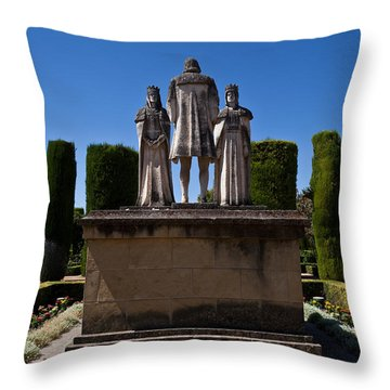 Alcazar Throw Pillows Fine Art America