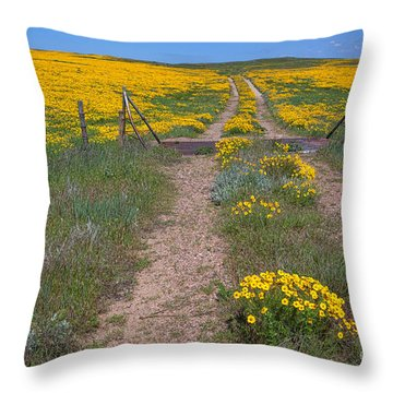 The Golden Gate Throw Pillow