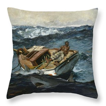 The Gulf Stream Throw Pillow