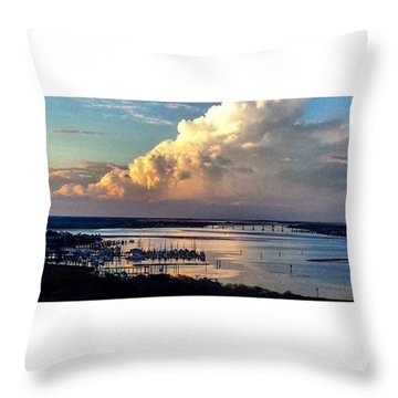 Jehovah's Creation Throw Pillow