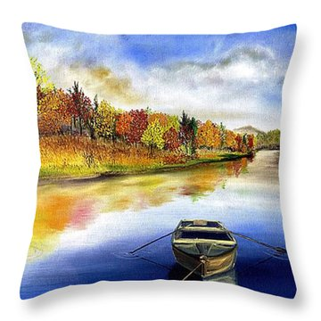 The Hiding Place Throw Pillow