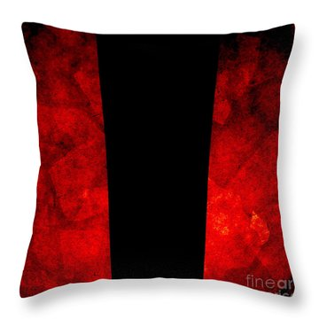 The Lamp Throw Pillow by CML Brown