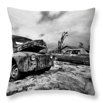The Last Tow Throw Pillow