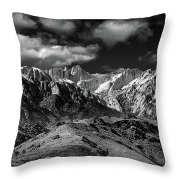 The Majestic Sierras Throw Pillow