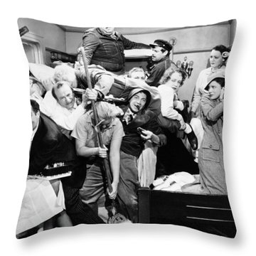 The Marx Brothers, 1935 Throw Pillow by Granger