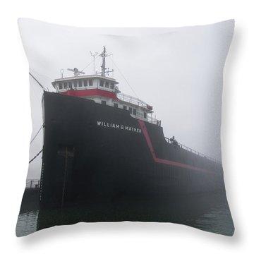 The Mather Throw Pillow