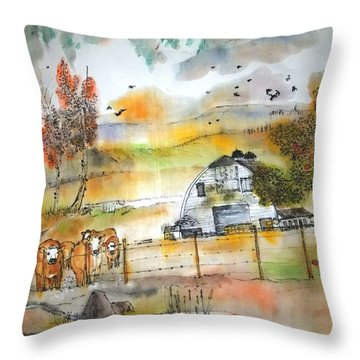 The Moose Is Loose  Album Throw Pillow