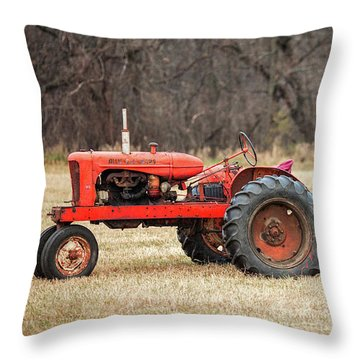 The Ol' Wd Throw Pillow