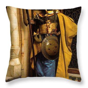 The Palace Guard Throw Pillow
