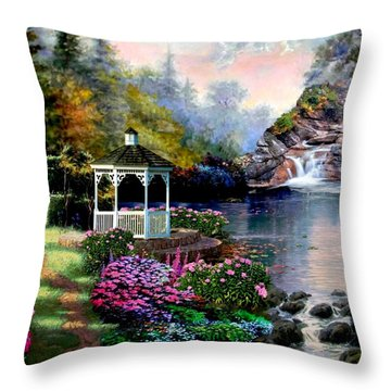 The Path Least Fallowed 2 Throw Pillow