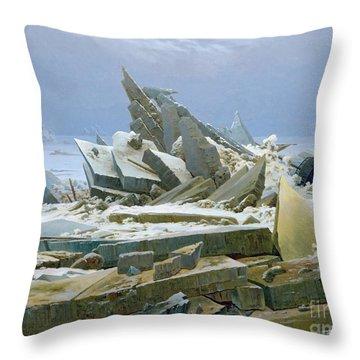 Wreckage Throw Pillows