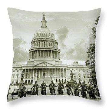The Presidents Club Throw Pillow