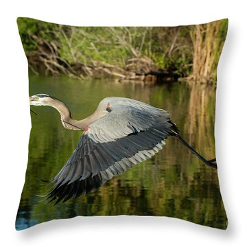 The Provider Throw Pillow