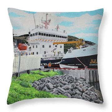 The Ranger Throw Pillow