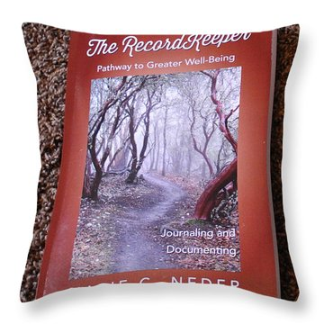 Throw Pillow featuring the photograph The Recordkeeper by Marie Neder