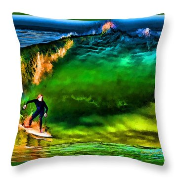 Throw Pillow featuring the photograph The Shadow Within by John A Rodriguez