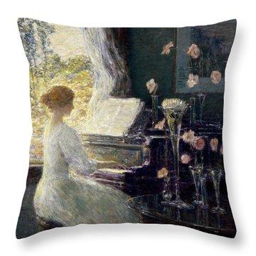The Sonata Throw Pillow