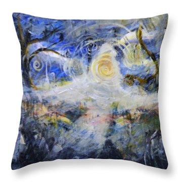 The Spirit Roams The Physical Earth-chronic Pain Throw Pillow
