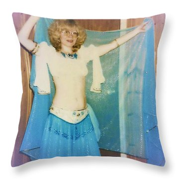 Throw Pillow featuring the photograph The Star by Denise Fulmer