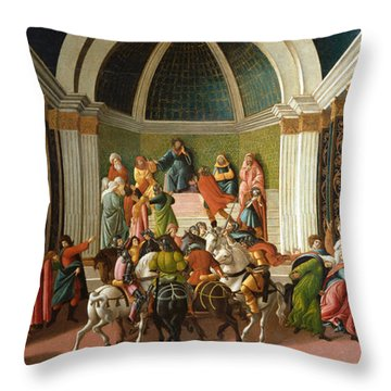 The Story Of Virginia Throw Pillow