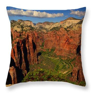 The Virgin River Throw Pillow