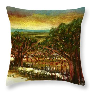 The Voices Of The Wind Throw Pillow