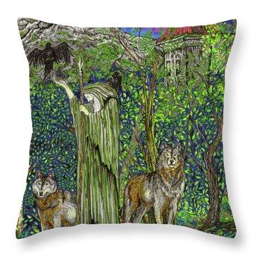 The Wanderer Throw Pillow