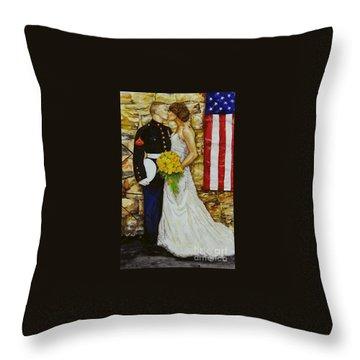 The Wedding Throw Pillow