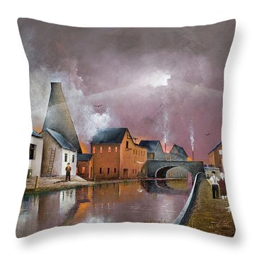 The Wordsley Cone Throw Pillow