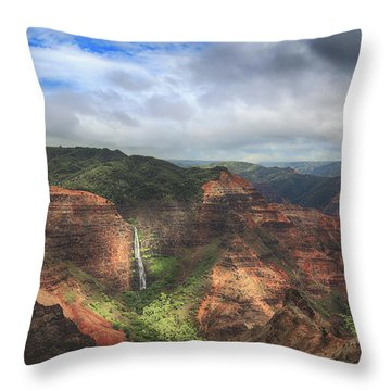 There Are Wonders Throw Pillow by Laurie Search
