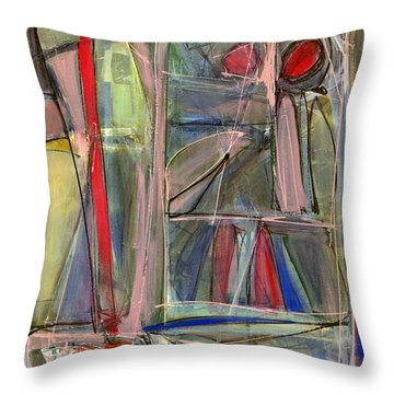 Things We Don't See Throw Pillow by Lynne Taetzsch