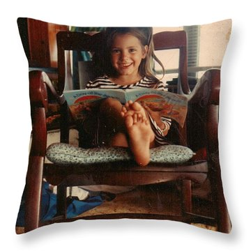 This Book Is Wonderful.. Throw Pillow