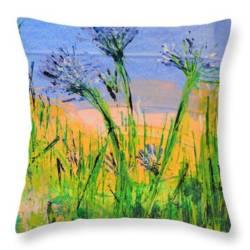 Thistles One Throw Pillow