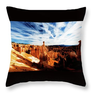 Thor's Hammer Throw Pillow