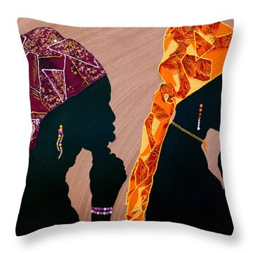 Thought And Prayer Throw Pillow by Kayon Cox