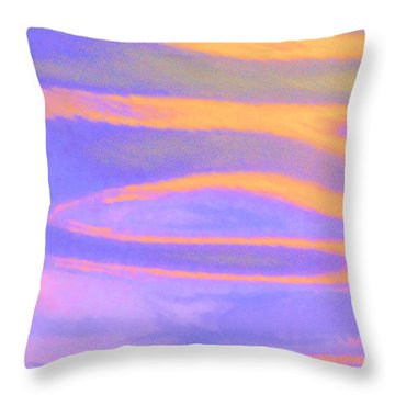 Threads Of Light Throw Pillow