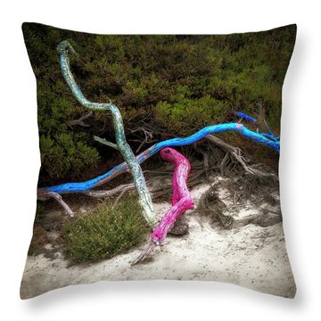 Three Branches Throw Pillow