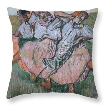 Three Russian Dancers Throw Pillow
