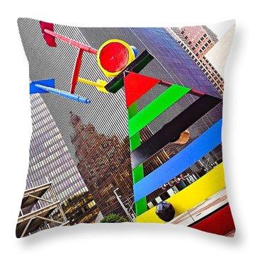 #throwbackthursday, #houston, #texas Throw Pillow