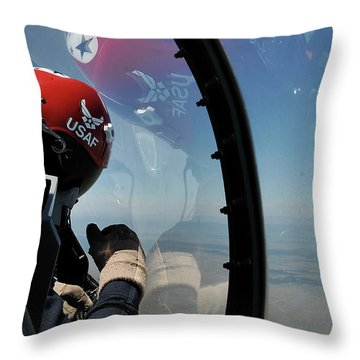 Thunderbirds Photo Throw Pillow